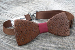 деревянная галстук бабочка Авиация