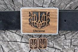 мужской набор с гербом украины