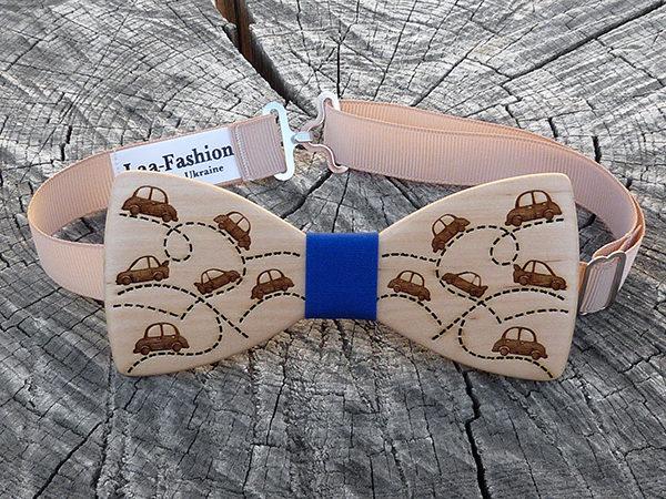 деревянная галстук бабочка купить