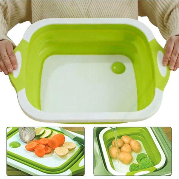 Разделочная доска для мытья фруктов и овощей